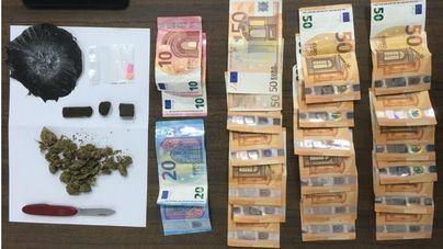 Dos detenidos en Palma durante un operativo policial contra el tráfico de drogas