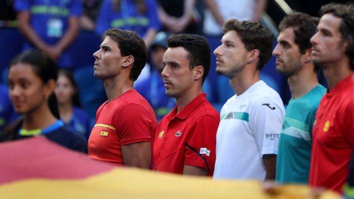 La España de Nadal busca ante Uruguay el pase a cuartos en la ATP Cup