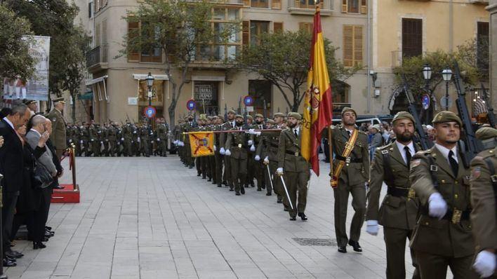 El Palacio de la Almudaina acoge el lunes la celebración de la Pascua Militar