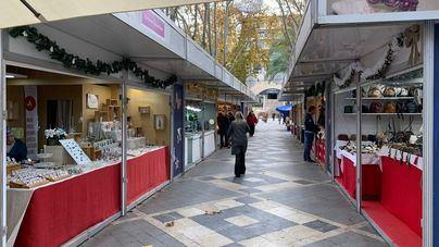 Fuertes caída de las ventas en el Mercado Artesanal de Navidad