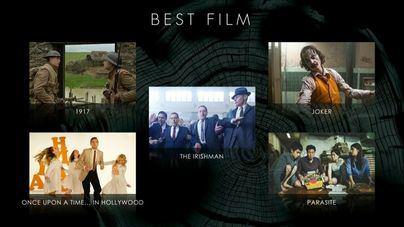 'Joker', 'El irlandés' y 'Érase una vez en Hollywood', los más nominados en los Bafta