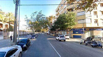 Cort renueva las aceras de la avenida Gaspar Bennàzar