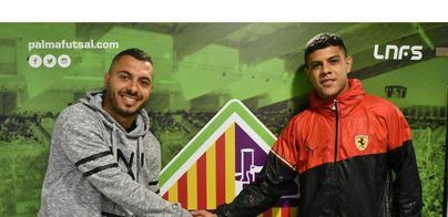 Palma Futsal se refuerza con los brasileños Rafael Vilela y Allan Barreto
