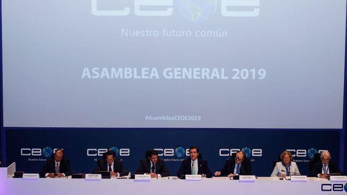 La CEOE se muestra conciliadora y tiende la mano al nuevo Gobierno