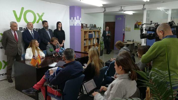 Vox anima a concentrarse este domingo contra el Gobierno de Sánchez
