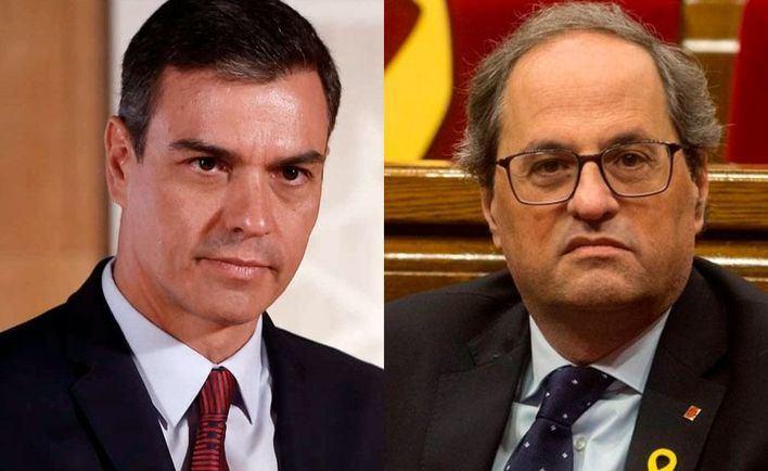 Sánchez y Torra aceleran las conversaciones para que las negociaciones se inicien lo antes posible