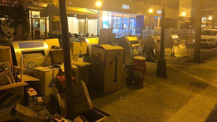 Bares y restaurantes denuncian una plaga de ratas en Plaza de España