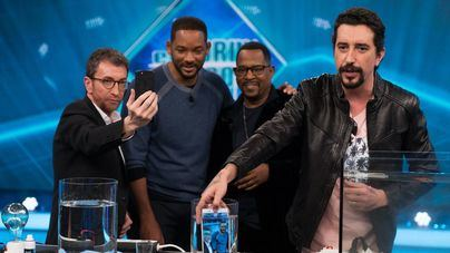Will Smith y Martin Lawrence disparan la audiencia de 'El hormiguero'