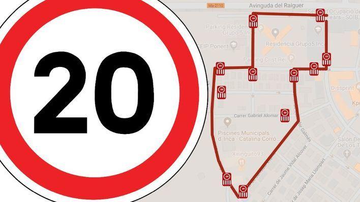 Inca limita a 20 km/hora la velocidad en las zonas escolares