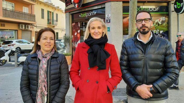 Ciudadanos denuncia el 'alarmante' crecimiento de casas de apuestas en Pere Garau
