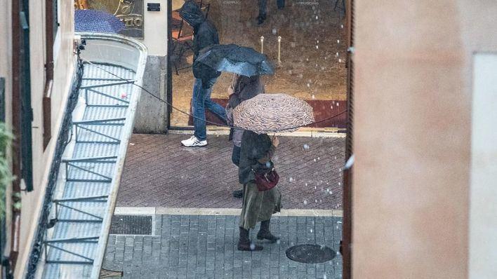 Llegan las primeras lluvias del año a Baleares