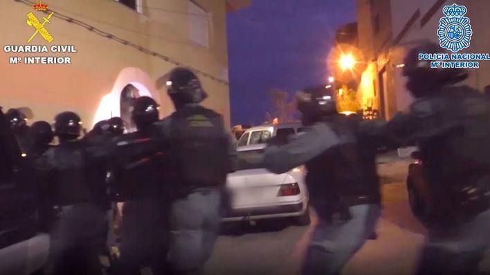 Cae en Melilla una red de tráfico de hachís