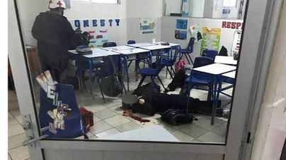 Horror en un colegio de México: un niño de once años mata a tiros a su profesora y luego se suicida