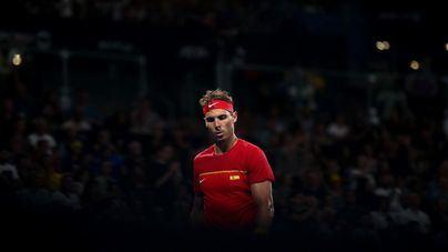 Nadal sufre pero mete a España en la final de la Copa ATP