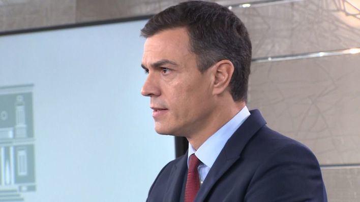 Sánchez hará una declaración institucional este domingo