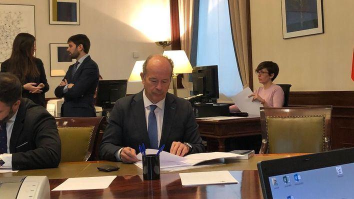 El nombramiento de Juan Carlos Campo como ministro de Justicia completa la lista de Gobierno