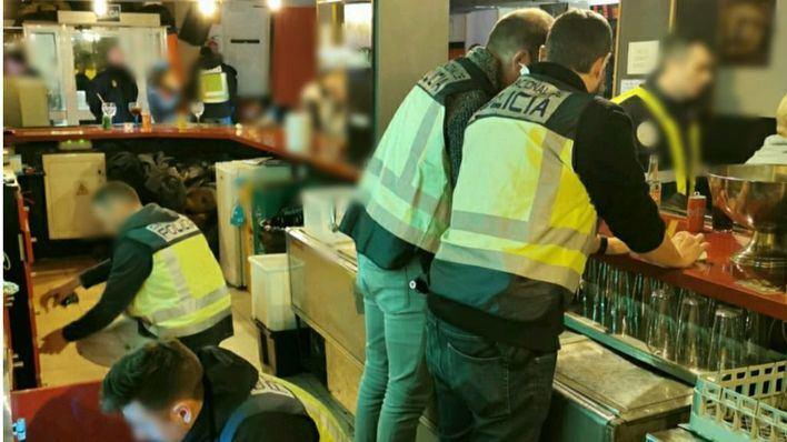 Seis detenidos en una operación contra el tráfico de drogas en establecimientos de ocio de Palma