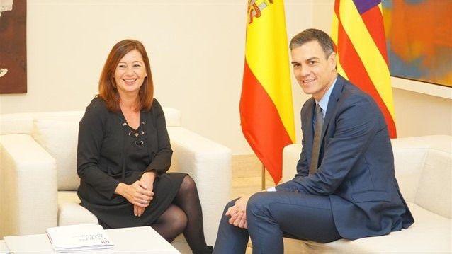 Armengol ve positivo el Gobierno de Sánchez: