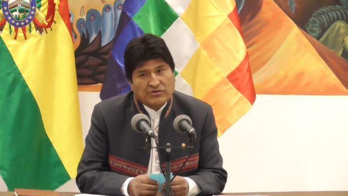 Morales no descarta volver a Bolivia y organizar milicias a la venezolana