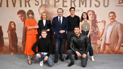 Coronado vuelve a Telecinco con la segunda temporada de 'Vivir sin permiso'
