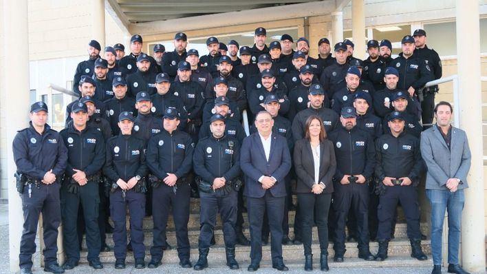 La Policía Local de Calvià se refuerza y rejuvenece con 53 incorporaciones