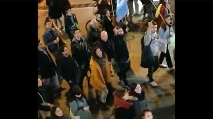 Sa Fundació denuncia amenazas y ataques durante una manifestación pancatalanista