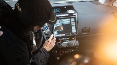 El coche policial inteligente de Palma recupera 77 vehículos robados