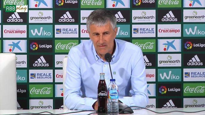 Quique Setién asume la dirección técnica del FC Barcelona tras la destitución de Valverde