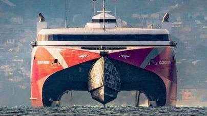 Trasmediterránea recibe el Premio internacional al fast ferry más moderno del mundo
