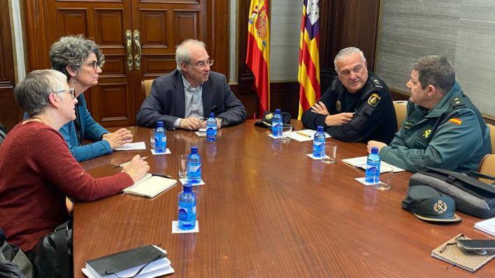 Delegación de Gobierno promueve el catalán entre policías y guardias civiles en Baleares