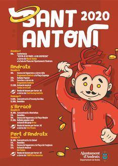 Andratx, s'Arracó y Puerto de Andratx celebran Sant Antoni con música, fuego y Beneïdes