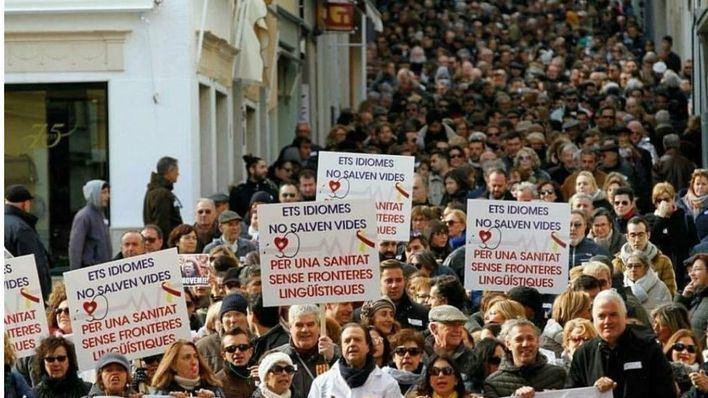 El decreto provocó la movilización de los profesionales de la sanidad