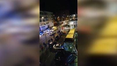 Mueren dos hermanos menores tras ser arrollado su coche por un autobús en Estella