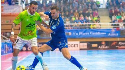 El Palma Futsal firma un empate ante el difícil Viña Albalí