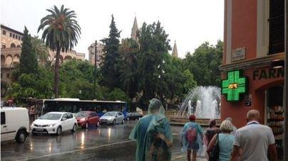 El temporal 'Gloria' entra en Baleares