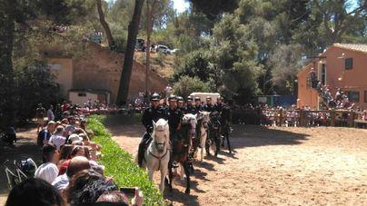 Suspendido el Carrusel ecuestre de la Policía Montada de Palma