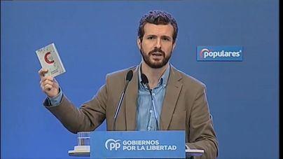 Casado acusa al Gobierno de usar el 'pin parental' para tapar el 'escándalo' de Delgado