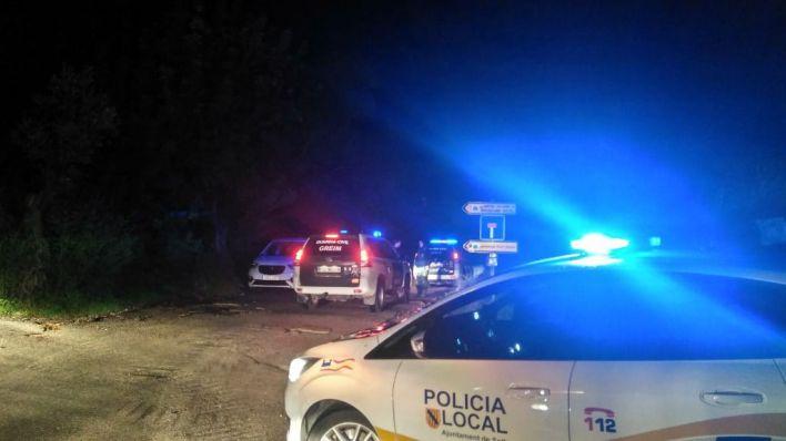 Suspenden la búsqueda del barranquista en Na Mora por el mal tiempo