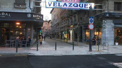 Ciudadanos pide bonificar a los comercios de la calle Velázquez por las obras de peatonalización