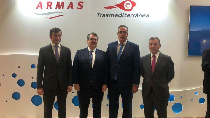 Competitividad e innovación, ejes de Naviera Armas Trasmediterránea para 2020