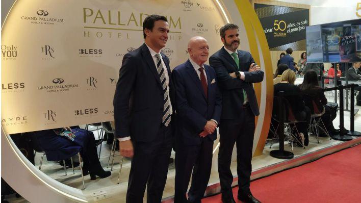 Abel Matutes delega en su hijo la presidencia de Palladium Hotel Group