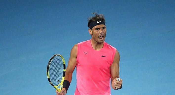 Nadal supera a Delbonis y se planta en la tercera ronda del Open de Australia