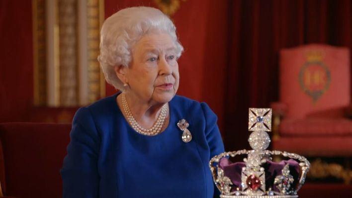 Isabel II firma el documento del Brexit a falta de una semana para el 'divorcio' de Reino Unido y la Unión Europea