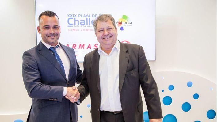 Naviera Armas Trasmediterránea patrocina la nueva edición de la Challenge Ciclista Mallorca
