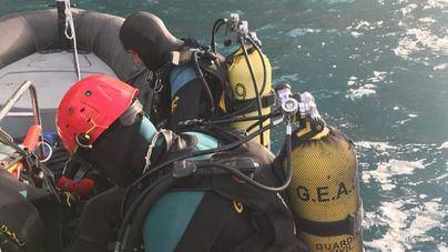 Centran en el mar la búsqueda de los tres desaparecidos en Baleares por 'Gloria'