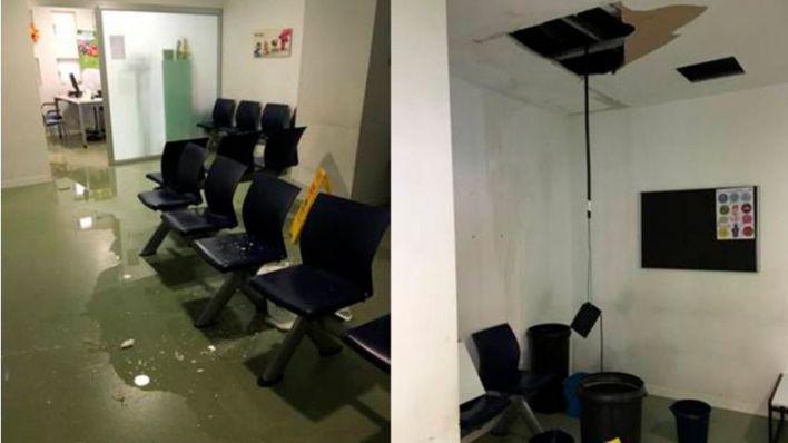 Indignación por el pésimo estado del centro de salud de Pere Garau