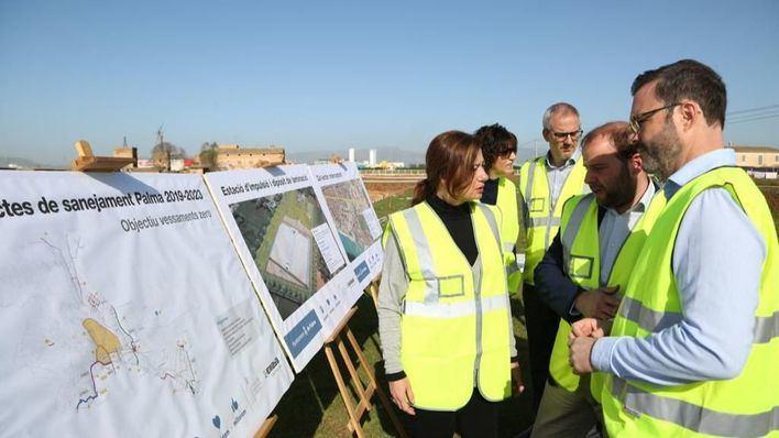 Las obras del colector de Palma para no vertir aguas residuales al mar costarán 22 millones