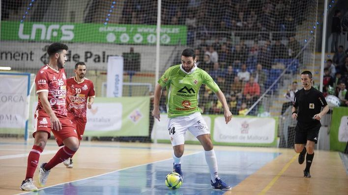 El Palma Futsal impone su ley ante ElPozo Murcia