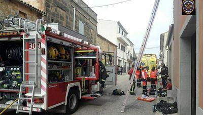 El fuego de Vilafranca en que murió un niño se inició en la cocina