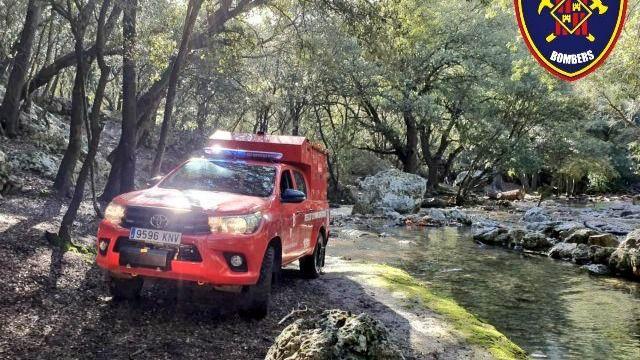 Localizan y trasladan a Son Espases al excursionista de 65 años en la zona del Puig Caragoler